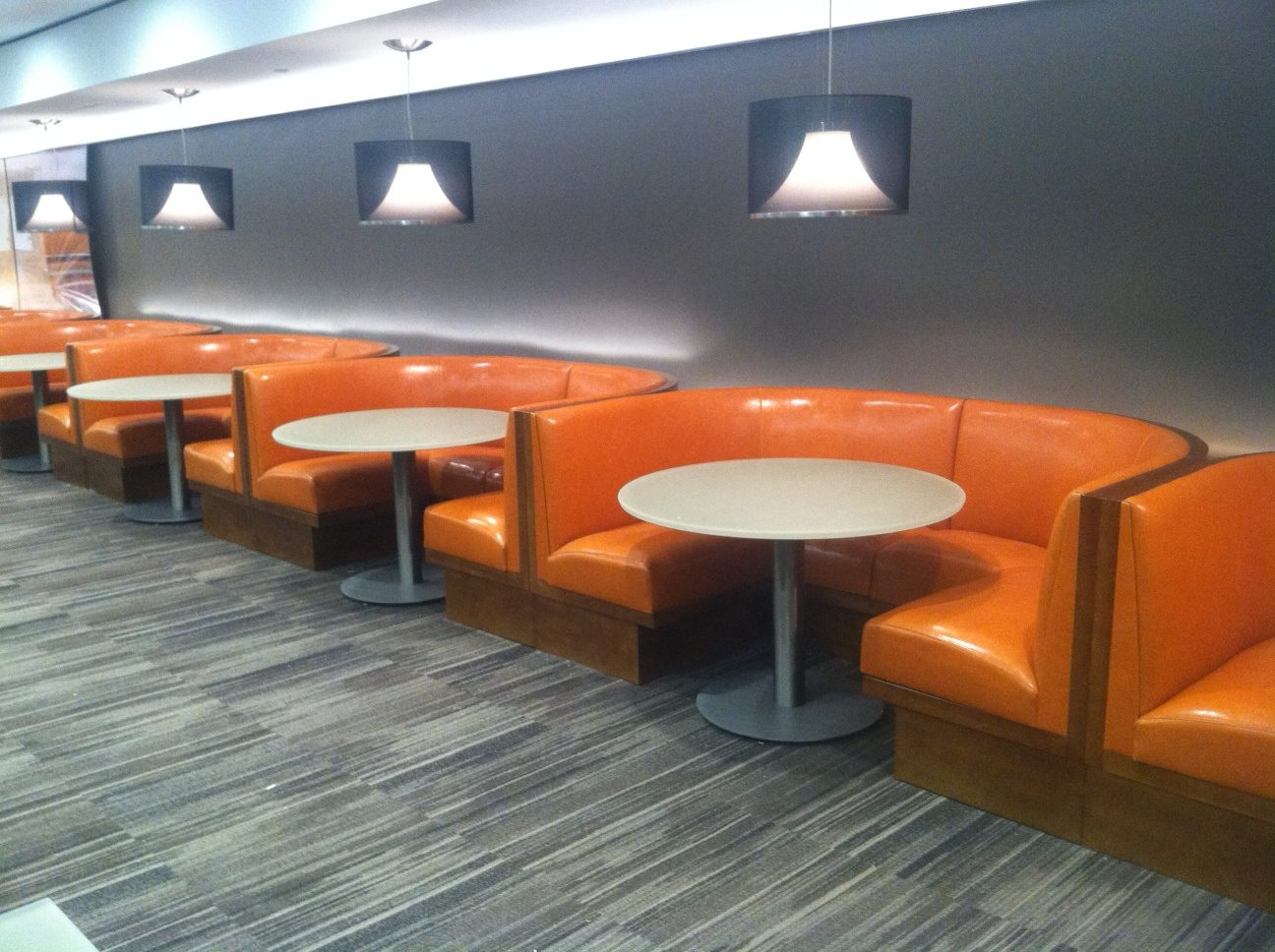 Levinger Booths and Banquettes - Custom Project for Morgan Stanley