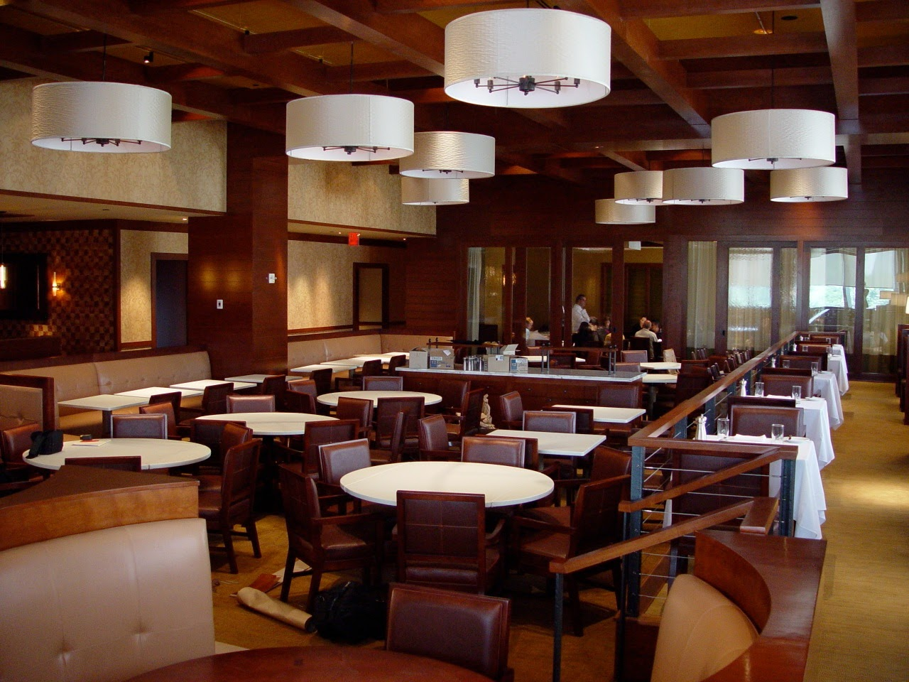 Levinger Booths and Banquettes - Custom Project for Porter House Restaurant